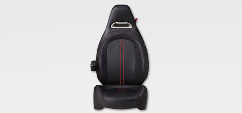 High-back performance bucket seats