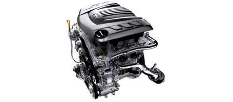 3.8L V6 GDI engine