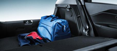 Split-Folding Rear Seat