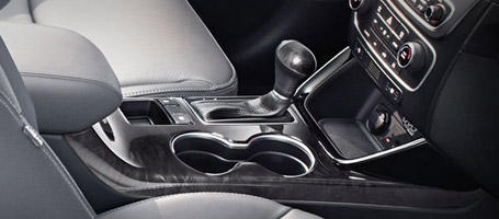 Dual Front Cup Holders