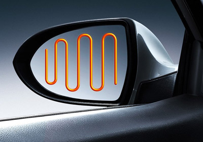 Heated Mirrors
