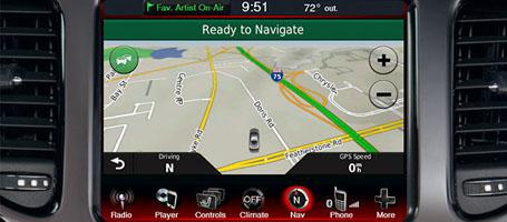 Uconnect® Navigation