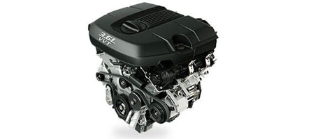 Award-Winning 3.6L Pentastar® V6 Engine