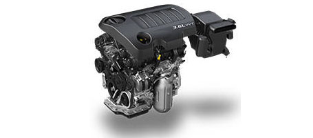 Award-Winning 3.6L Pentastar® V6 Engine (283 Horsepower and 260 LB-FT of Torque)