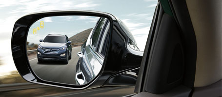 Blind Spot Detection with Rear Cross-traffic Alert