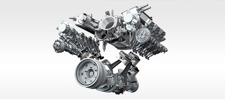 Available 3.0-liter V6 Supercharged Engine