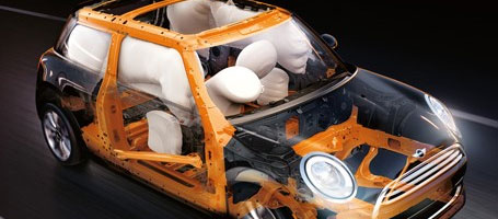 Dual Stage, 8 Airbag System