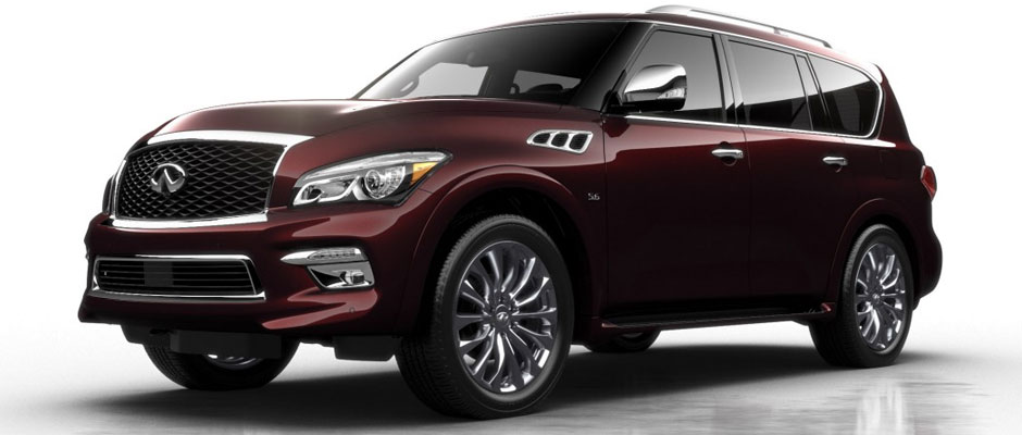 2016 Infiniti QX80 overview image