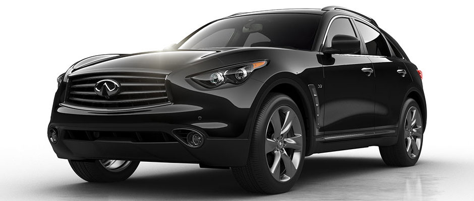 2016 Infiniti QX70 overview image