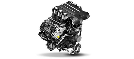 270-hp V6 engine