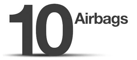 Ten airbags