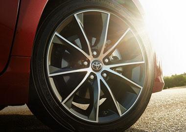 18-in. alloy wheels