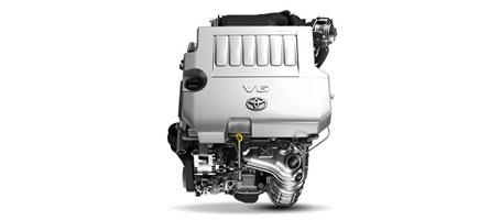 Impressive V6 power