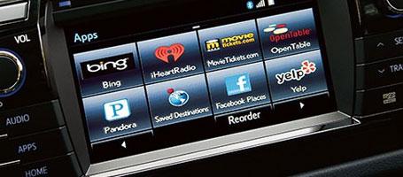 Entune™ Premium Audio with Navigation and App Suite