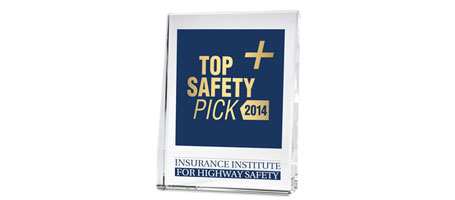 IIHS Top Safety Pick Plus
