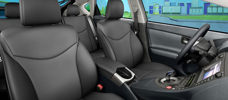 SofTex®-trimmed seats