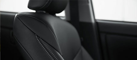SofTex®-trimmed seats