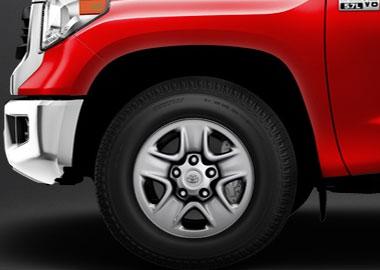 18-in. styled steel wheels