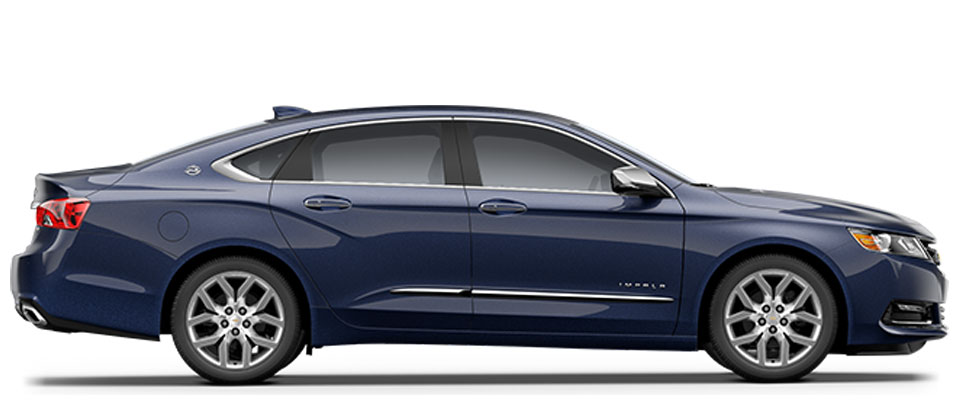 2015 Chevy Impala overview image