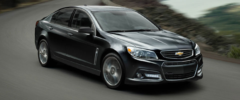 2015 Chevy SS Sedan Appearance Image