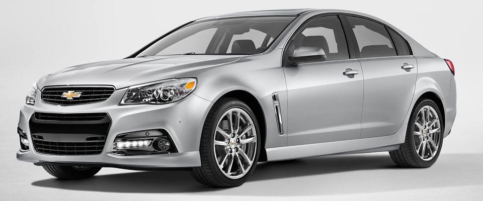 2015 Chevy SS Sedan Overview Image