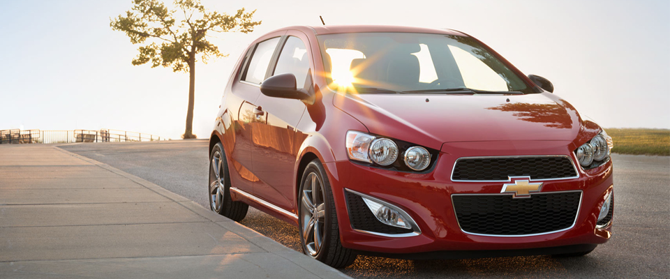 2015 Chevy Sonic Hatchback Appearance Image