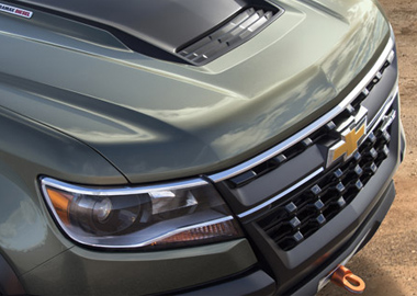 Grille and Headlamps