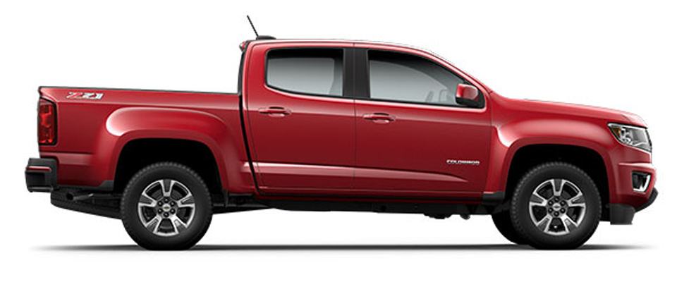 2015 Chevy Colorado Overview Image