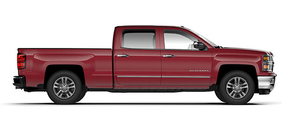 2015 Chevy Silverado overview image