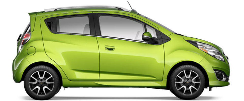 2015 Chevy Spark overview image