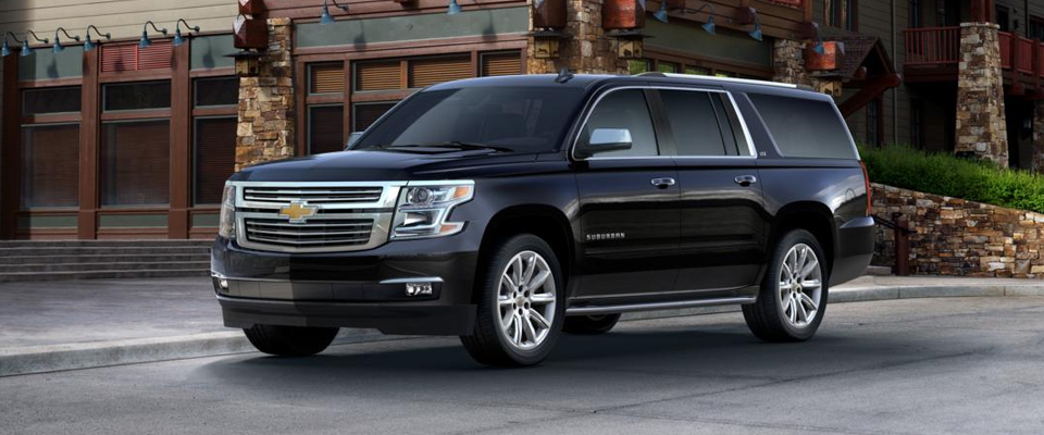 2015 Chevy Suburban Appearance Image