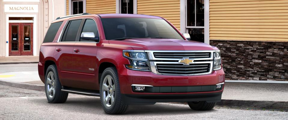 2015 Chevy Tahoe Appearance Image