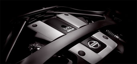 3.7-Liter DOHC 24-Valve V6 Aluminum-Alloy Engine
