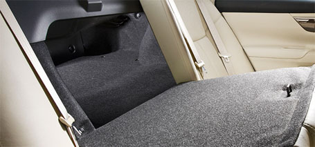60/40 Split Fold-Down Rear Seat