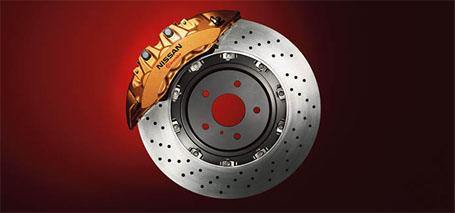 Nissan/Brembo<sup>&reg;</sup> Braking System