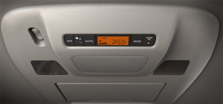 2nd- and 3rd-Row Climate Controls