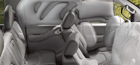 Driver and Front-Passenger Seat-Mounted Side-Impact Supplemental Air Bags
