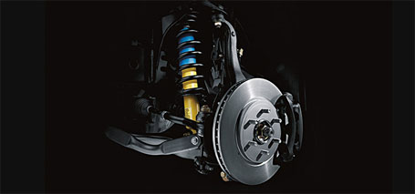 4-Wheel Anti-Lock Braking System (ABS) With Electronic Brake Force Distribution