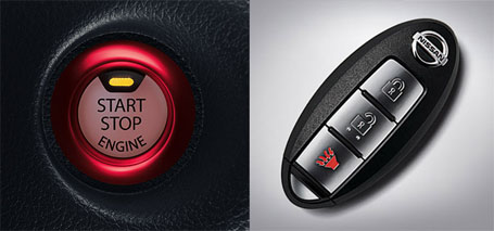 Nissan Intelligent Key® With Push Button Ignition