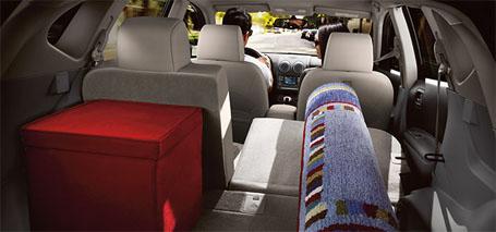 60/40 Split Fold-Down Rear Seat