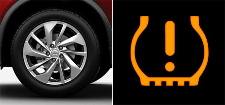Tire Pressure Monitoring System (TPMS) With Easy-Fill Tire Alert