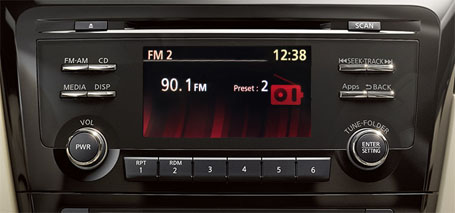 Premium AM/FM/CD Audio System With 5.0'' Color Display