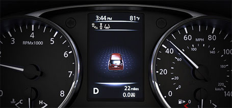 Advanced Drive-Assist® Display