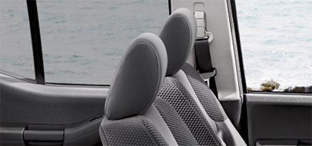 Front-Seat Active Head Restraints