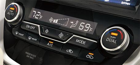 Dual Zone Automatic Temperature Control (ATC) With In-Cabin Microfilter