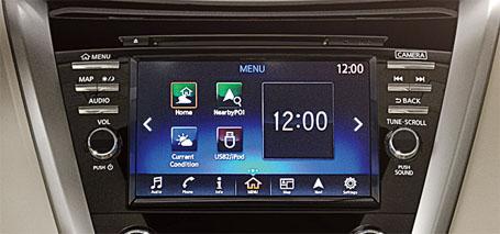 AM/FM In-Dash 6-CD Changer Audio System