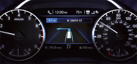 7.0 Color Advanced Drive-Assist<sup>&reg;</sup> Display
