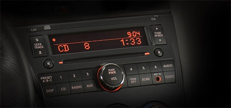 AM/FM/CD Audio System With Auxiliary Input and 6 Speakers
