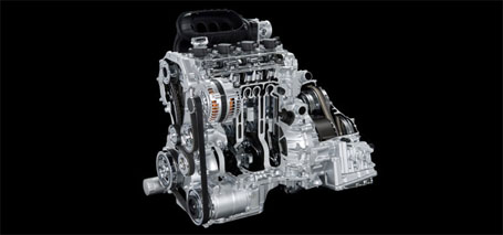 175-HP 2.5-Liter 4-Cylinder Engine