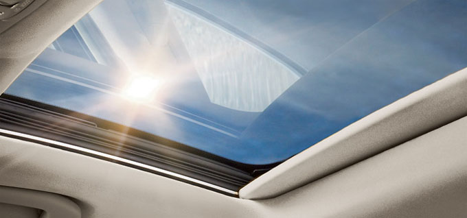 Power sliding moonroof
